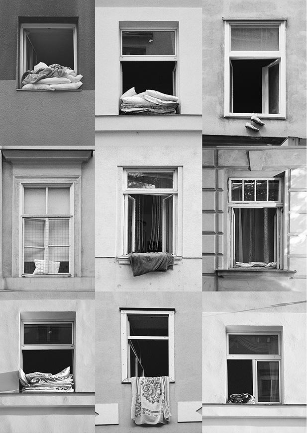 """between sheets and walls"""", 2017"""
